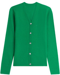 grüne strickjacke damen