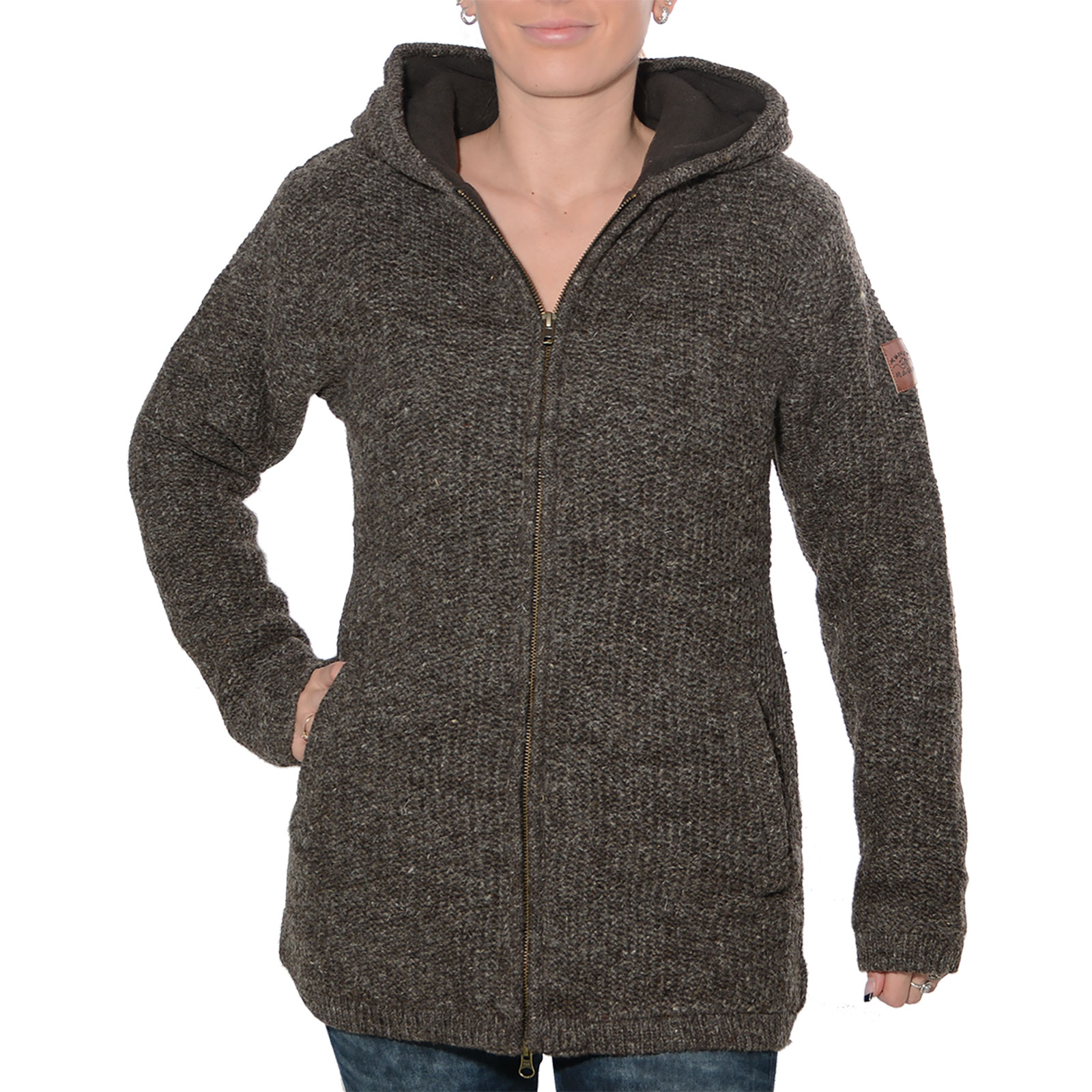 woll strickjacke damen